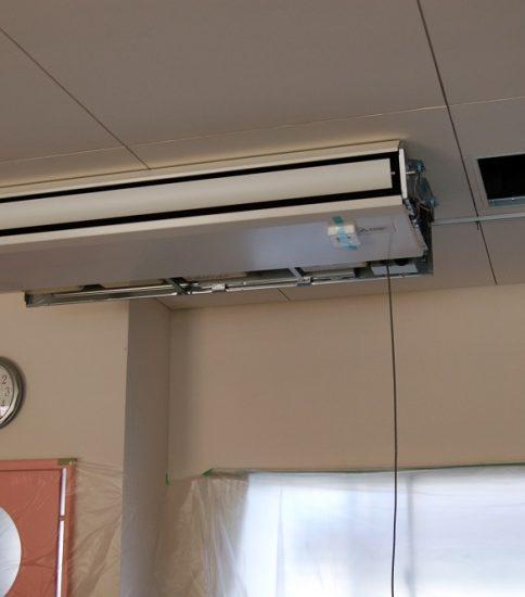 すべての教室にエアコンを設置しました!