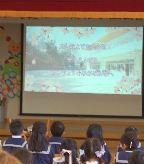 卒園式中での動画について(菱野幼稚園保護者限定)